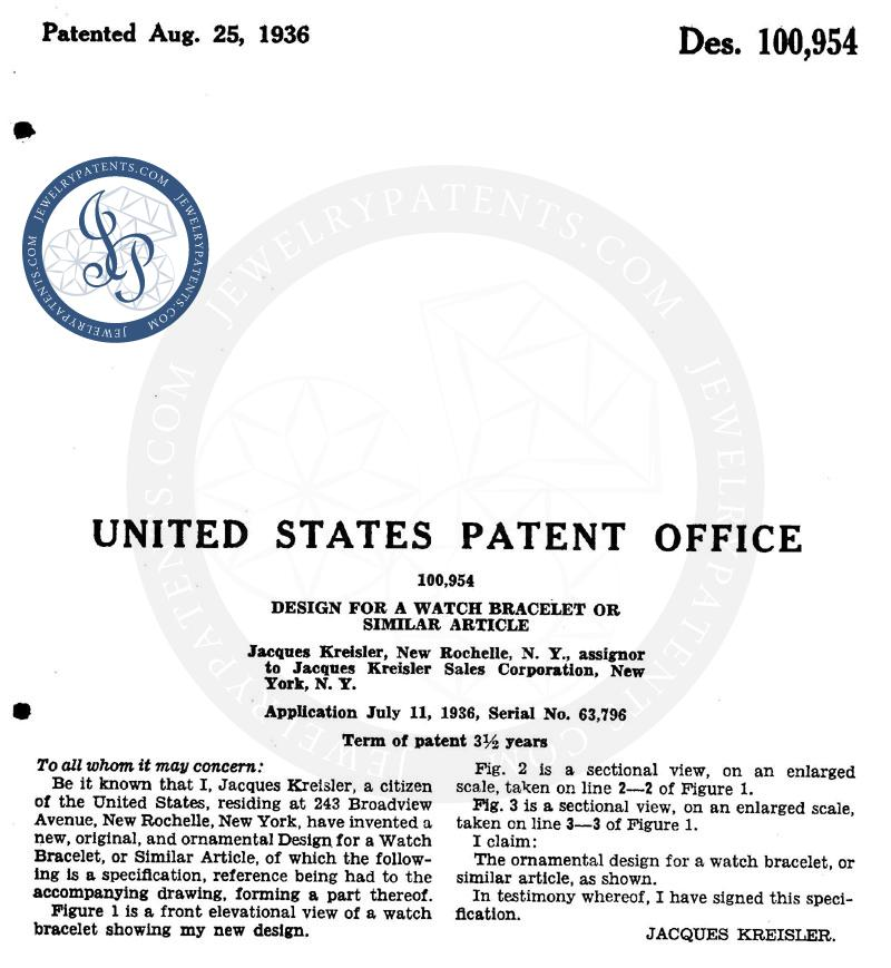 Show Patent Specifications